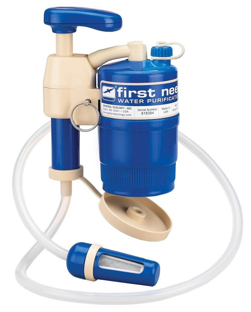 First Need water filter